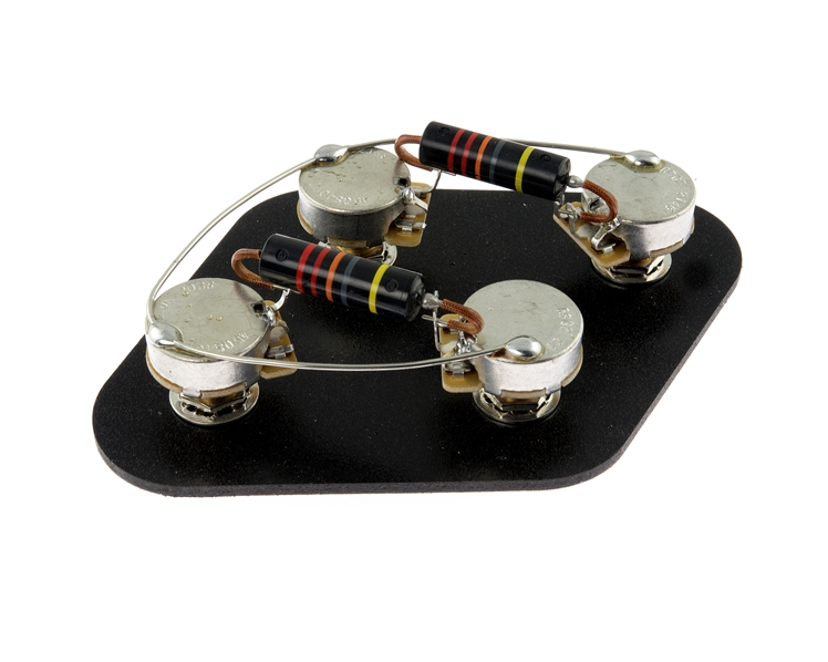 Pre-Wired Vintage Electronics Upgrade Kit with Luxe Bumble Bees- Long