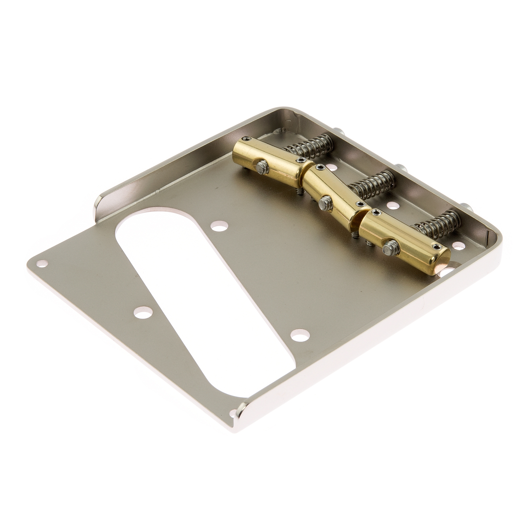 CALLAHAM TELE BRIDGE SLANT COMPENSATED BRASS CA22002