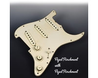 Pre-Wired Aged Parchment Pickguard FREE WIRING
