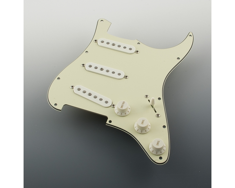 Pre-Wired Mint Green Pickguard FREE WIRING