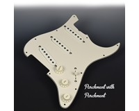 Pre-Wired Parchment Pickguard FREE WIRING