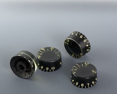 speed knobs aged black