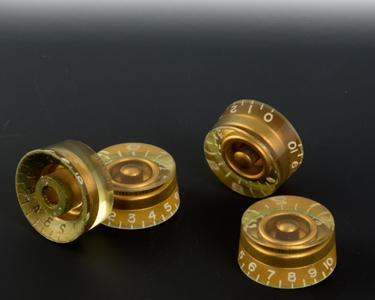speed knobs aged gold