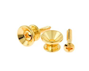 Gotoh Fender Replacement Strap Buttons Gold